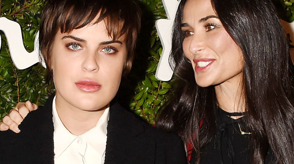 PHOTO Demi Moore : l'émou­vant message de sa fille Tallu­lah Belle pour son anni­ver­saire