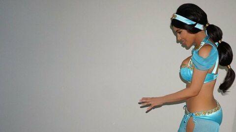 PHOTOS Kim Kardashian: son retour sur la toile en Princesse Jasmine