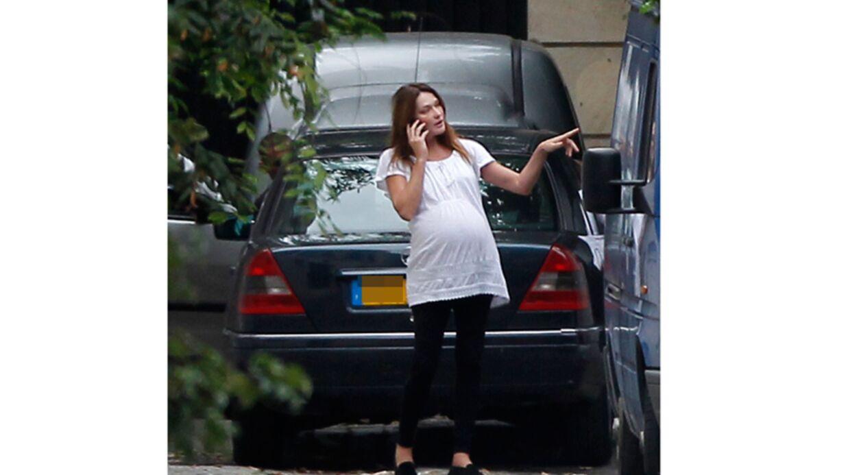 PHOTOS: Carla Bruni n'a pas accouché, la preuve par l'image