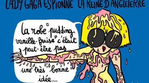 Louison a croqué: les vacances bizarres de Lady Gaga