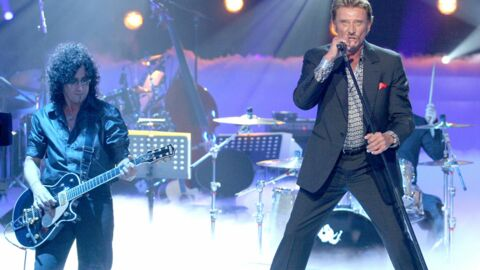 Johnny Hallyday a fait son grand retour en France