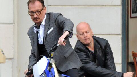 DIAPO Bruce Willis et Catherine Zeta-Jones en tournage à Paris