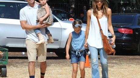 PHOTOS Jessica Alba, Jennifer Lopez, Fergie en famille pour préparer Halloween