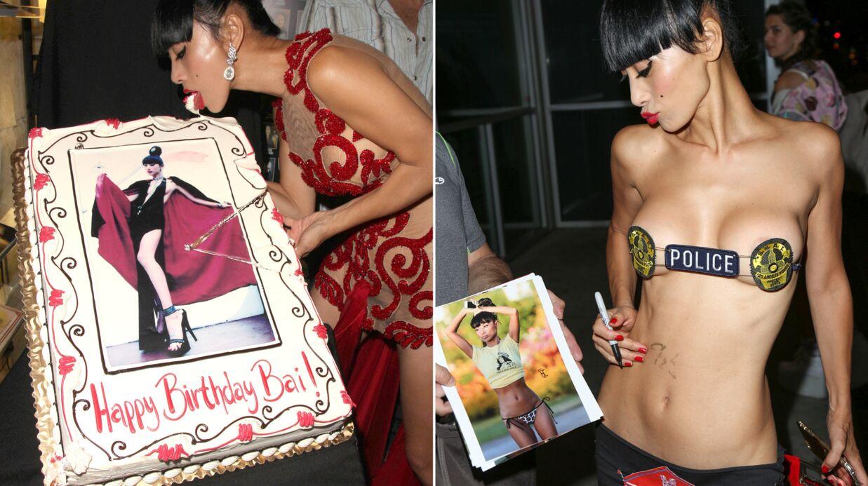 PHOTOS L'actrice Bai Ling fête ses 49 ans à moitié nue
