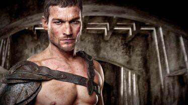Un gladiateur à terre
