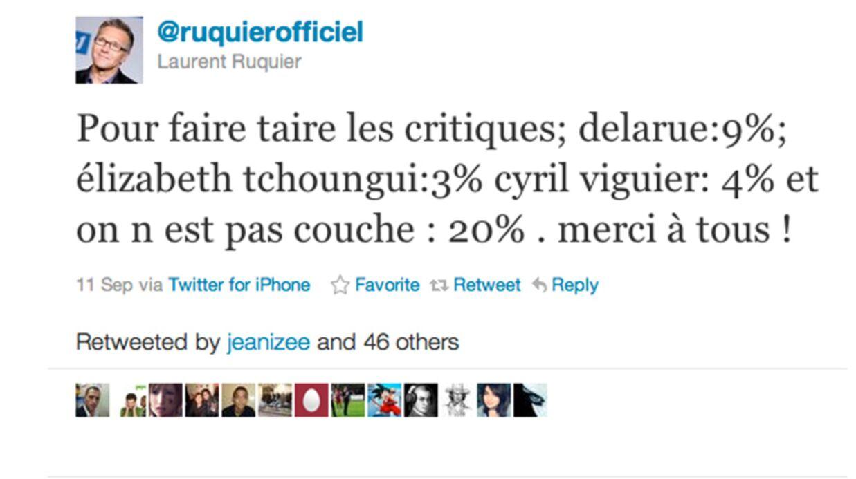 Laurent Ruquier tape sur ses collègues de France TV