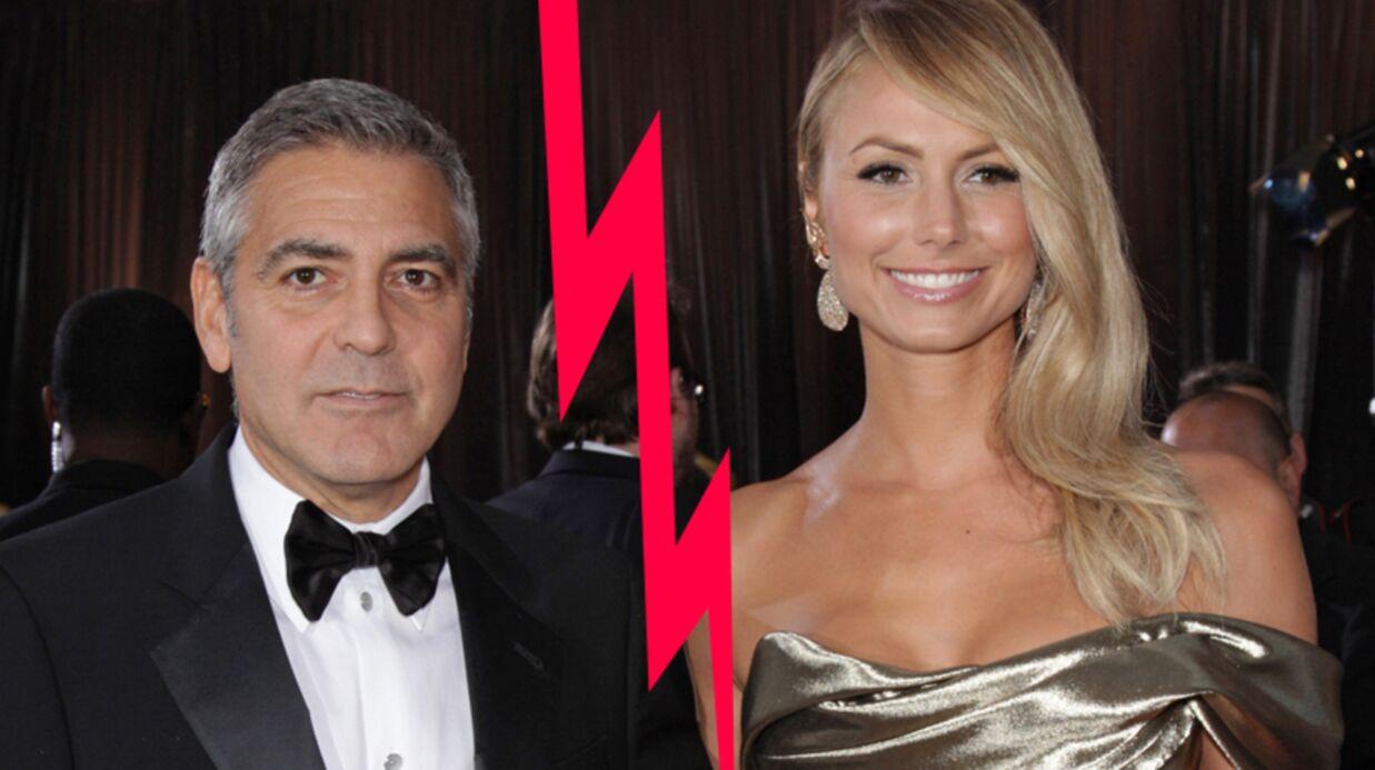 Démenti: George Clooney et Stacy Keibler n'ont pas rompu