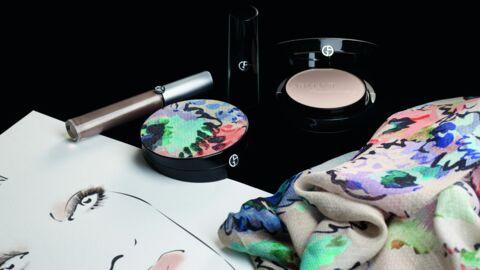 Giorgio Armani a créé sa ligne de maquillage en adéquation avec son défilé Automne/Hiver