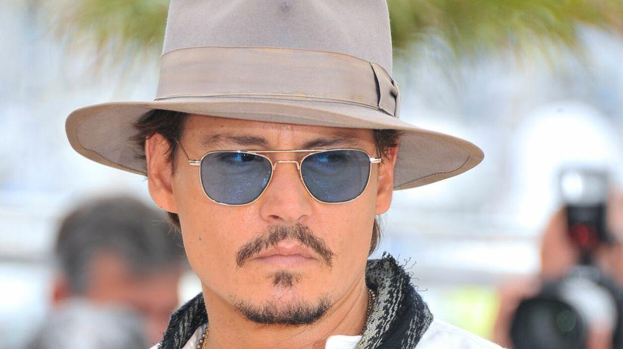 Johnny Depp: le tournage de «The Lone Ranger» annulé