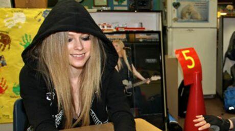 Avril Lavigne a passé un an à Paris