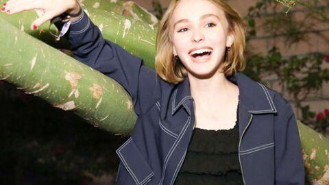 PHOTOS Lily-Rose Depp: la fille de Vanessa Paradis s'est bien éclatée à une soirée déjantée!