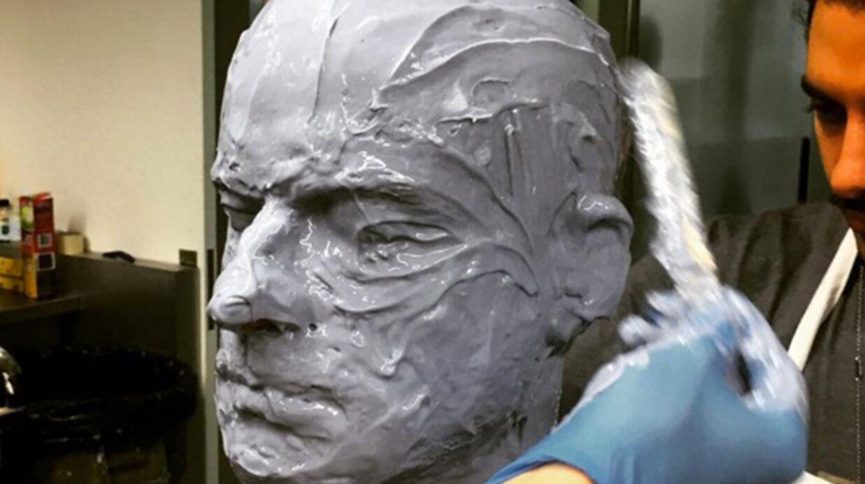 DEVINETTE Quel célèbre acteur se cache derrière cet étonnant maquillage?