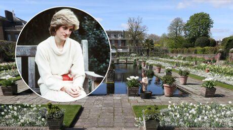 Lady Diana: un jardin mémorial vient d'ouvrir dans la future résidence de Kate et William