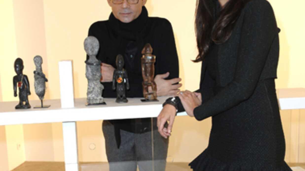 PHOTOS Jean-Luc Delarue fait la promo des bijoux d'Anissa
