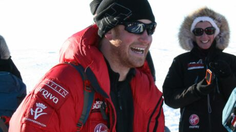 Le prince Harry a bouclé son trek en Antarctique