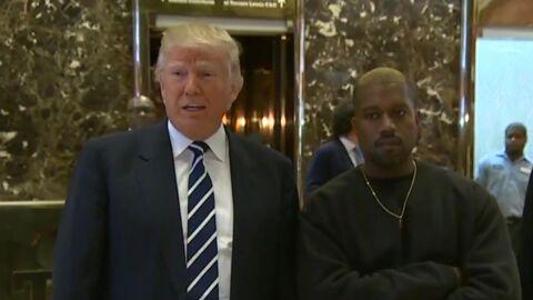 VIDEO Kanye West: tout juste sorti de l'hôpital, il est reçu par… Donald Trump!