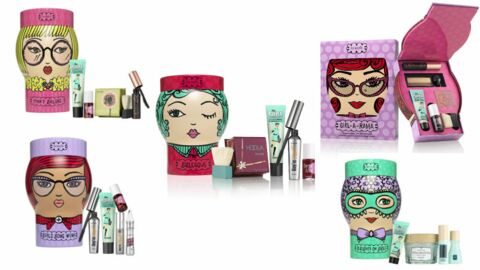 Maquillage: Benefit Cosmetics dévoile ses coffrets de Noël