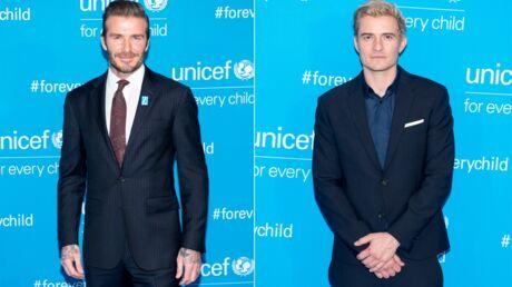 PHOTOS David Beckham et Orlando Bloom, les hommes de cœur des 70 ans de l'UNICEF