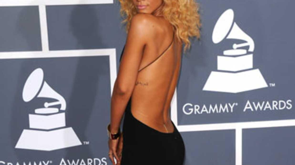 PHOTOS Rihanna sexy et provocante aux Grammy Awards