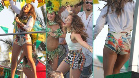 PHOTOS Jennifer Lopez sexy sur le tournage de son nouveau clip « We Are One »