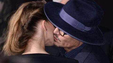PHOTOS Johnny Depp et Amber Heard: première sortie en couple sur tapis rouge