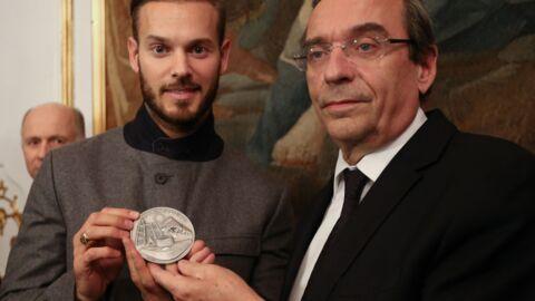 PHOTOS M Pokora a reçu la médaille d'honneur de la ville de Strasbourg