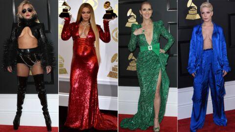 PHOTOS Lady Gaga, Beyoncé, Céline Dion: avalanche de décolletés aux Grammy 2017
