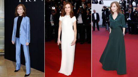 BAFTA, Golden Globes et autres tapis rouges: la rétro look d'Isabelle Huppert