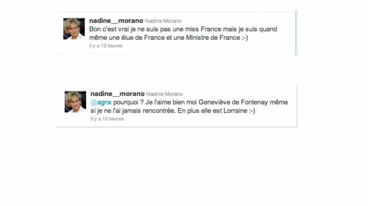 Geneviève de Fontenay traite Nadine Morano de mégère