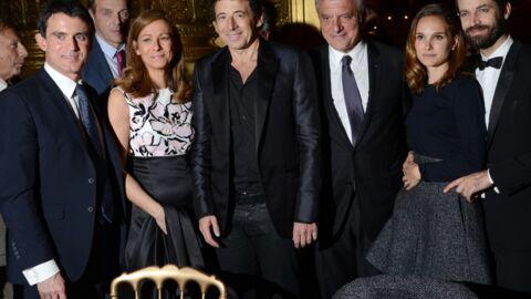 PHOTOS Natalie Portman rencontre Patrick Bruel et Manuel Valls à l'Opéra Garnier
