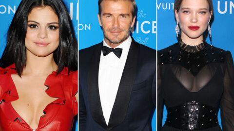 DIAPO Selena Gomez décolletée, Léa Seydoux ultra sexy pour David Beckham et l'Unicef