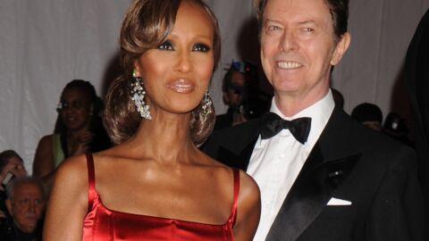Disparition de David Bowie: sa femme Iman «tient le coup»