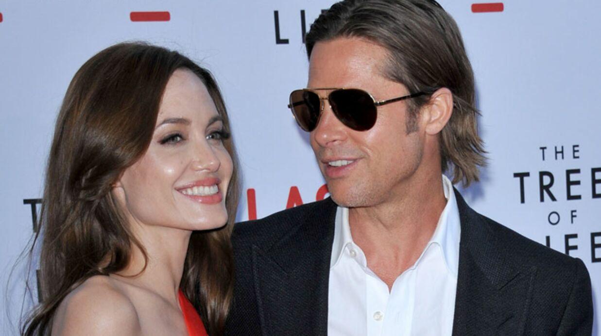 Le mariage de Brad Pitt et Angelina Jolie annoncé par la presse U.S.