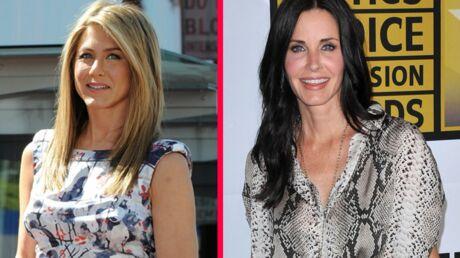 Jennifer Aniston et Courteney Cox: enfin la réconciliation!