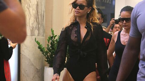 DIAPO Rihanna fait les boutiques à Monaco les fesses à l'air