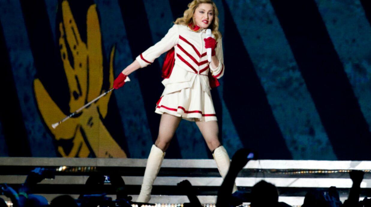 VIDEO Madonna montre ses fesses à Rome