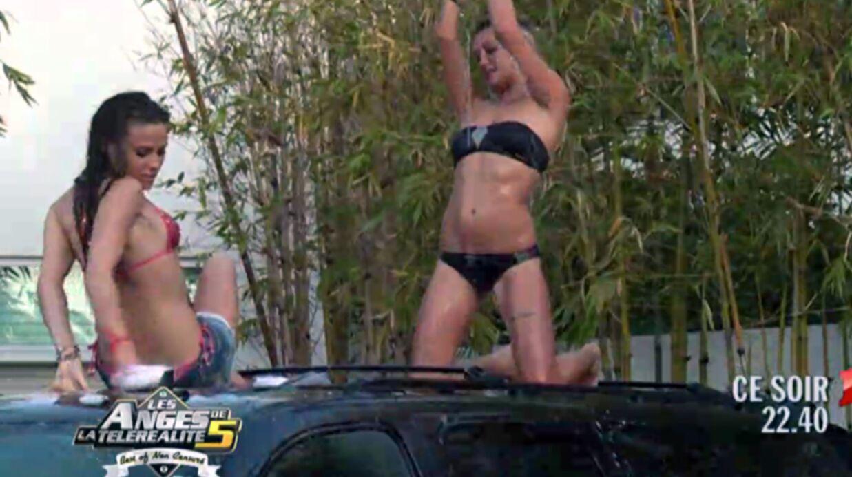 VIDEO Le car wash sexy de Vanessa, Aurélie et Capucine des Anges 5