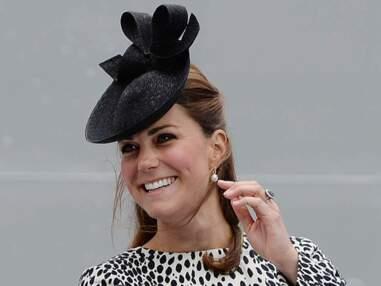 Kate Middleton baptise un paquebot à Southampton