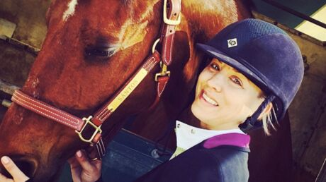 PHOTOS Kaley Cuoco : future championne d'équitation ?
