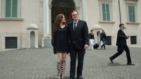DIAPO Quentin Tarantino: sacre en amoureux à Rome