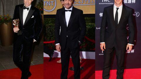 Kevin Spacey, Benedict Cumberbatch et Eddie Reymayne décorés par la Reine!