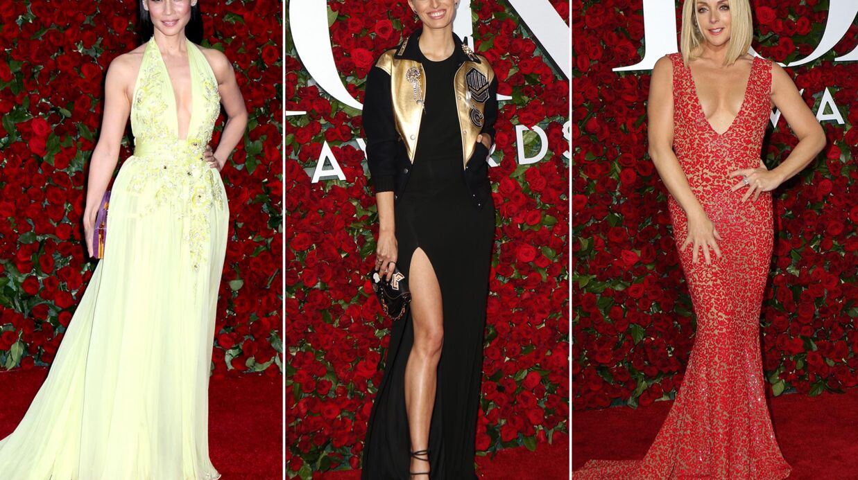 PHOTOS Lucy Liu, Karo­lina Kurkova, Jane Krakowski ultra glamour aux Tony Awards