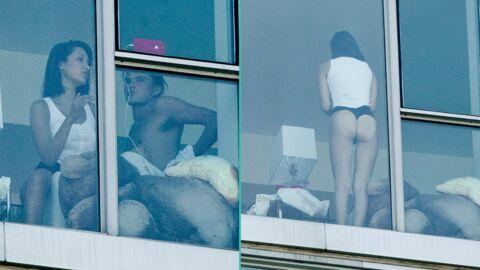 PHOTOS En string, Bella Hadid s'offre du bon temps chez elle avec un beau gosse