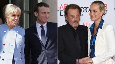 Emmanuel et Brigitte Macron ont invité Johnny et Laeticia Hallyday à dîner