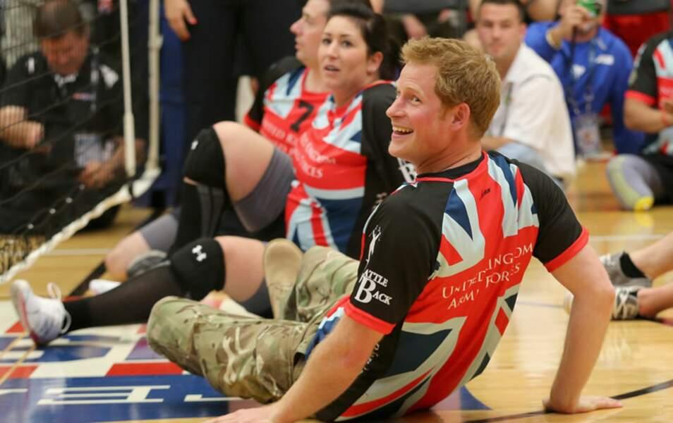 Prince Harry assite aux Warrior Games