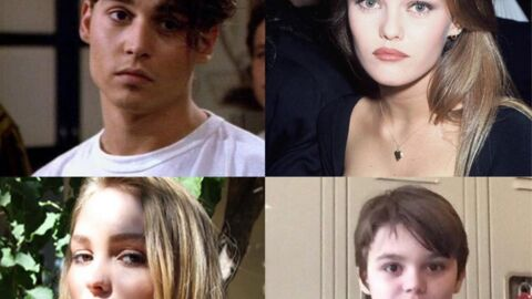 PHOTOS Lily Rose Depp et Jack, les sosies de leurs parents Johnny Depp et Vanessa Paradis
