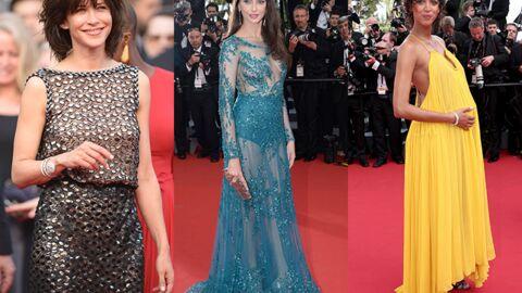 DIAPO Cannes 2015: Frédérique Bel et sa robe très transparente, Sophie Marceau sexy chic