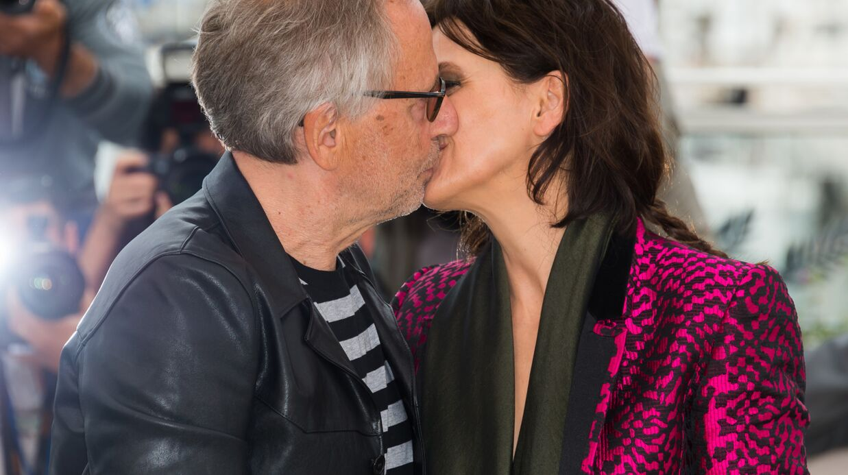 Cannes 2016 : Fabrice Luchini emballe Juliette Binoche ET Vale­ria Bruni-Tedes­chi en plein photo­call