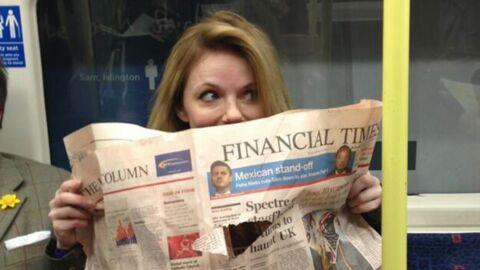 PHOTOS Geri Halliwell prend le métro pour la 1ère fois depuis 17 ans (et elle ADORE)
