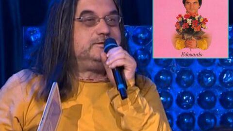 Edouardo, le chanteur disparu de Je t'aime le lundi, piège l'émission de Ruquier